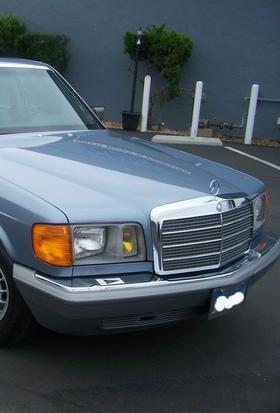 Кузовной ремонт автомобиля Mercedes